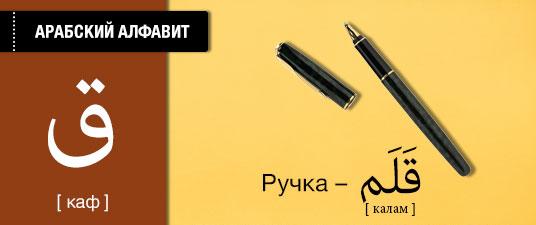 Ручка на арабском языке. Карточки арабского языка.