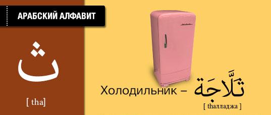 Холодильник на арабском языке. Карточки арабского языка.