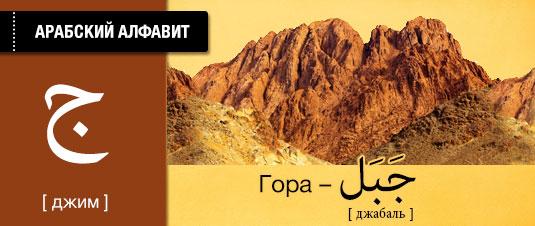 Горы на арабском языке. Карточки арабского языка.