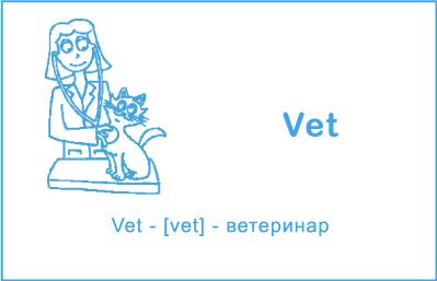 Ветеринар на английском языке