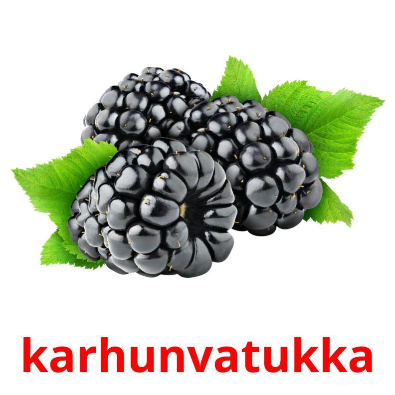 Карточки по финскому языку