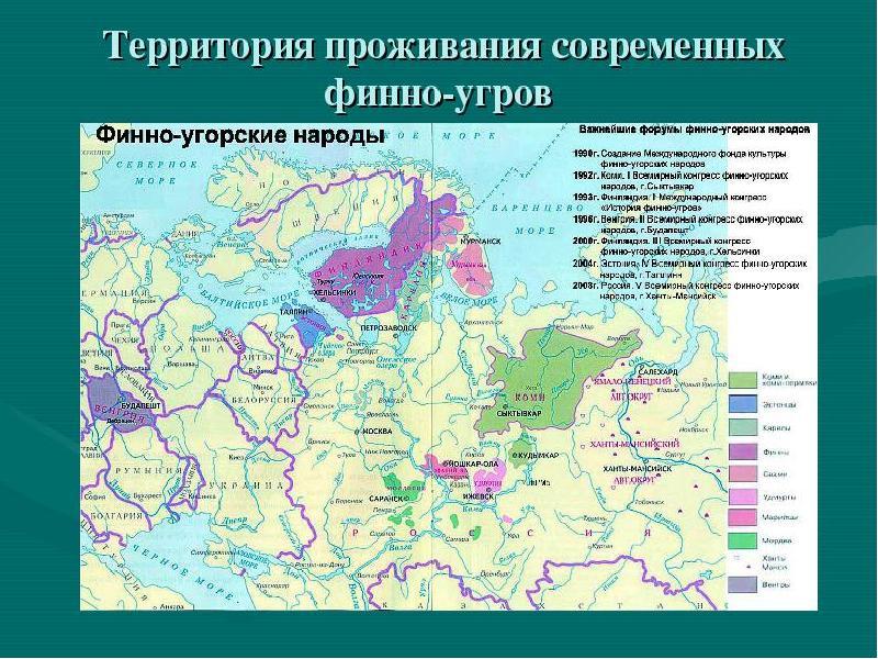 Финно-угорские языки